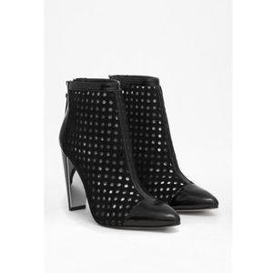 French Connection Black Maresella Booties
